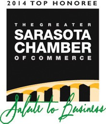 Wentzel's Heating, Conditioning & Electrical was a 2014 Top Honoree at the Sarasota Chamber of Commerce