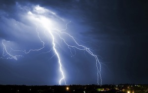 Summer Lightning can cause electrical surges