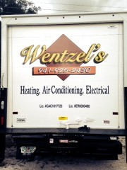 Wentzel's Air Conditioning Truck