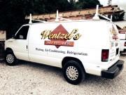 Wentzel's Air Conditioning Van