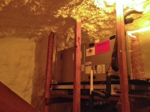 Wentzels HVAC and Insulation in Attic