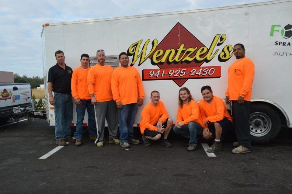 Wentzel's Insulation Division Staff 2016