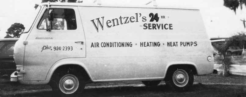 Wentzel's Original Service Van 1963