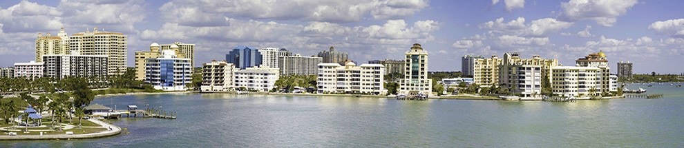 Sarasota Skyline from Northeast