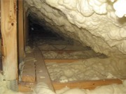 spray foam insulation in attic